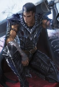 Rating: Safe Score: 18 Tags: armor berserk guts male official_watermark sakimichan sword User: charunetra
