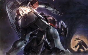Rating: Safe Score: 2 Tags: char_aznable gundam mecha mobile_suit_gundam rx-78-2_gundam User: Aurelia