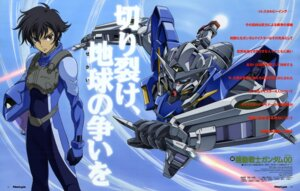 Rating: Safe Score: 6 Tags: chiba_michinori gundam gundam_00 male mecha nakatani_seiichi setsuna_f_seiei User: Radioactive