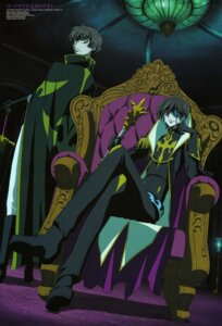 Rating: Safe Score: 24 Tags: code_geass kadekaru_chikashi kururugi_suzaku lelouch_lamperouge male User: drop