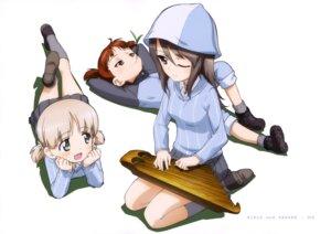 Rating: Safe Score: 8 Tags: aki_(girls_und_panzer) girls_und_panzer mika_(girls_und_panzer) mikko_(girls_und_panzer) uniform User: drop
