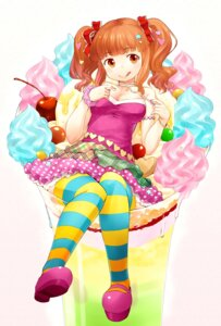 Rating: Safe Score: 16 Tags: cleavage moroboshi_kirari nagian the_idolm@ster the_idolm@ster_cinderella_girls thighhighs User: fairyren