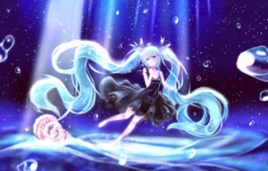 Rating: Safe Score: 26 Tags: cleavage dress hatsune_miku shinkai_shoujo_(vocaloid) vocaloid User: Humanpinka