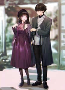 Rating: Safe Score: 28 Tags: chitanda_eru hyouka japanese_clothes mery_(apfl0515) oreki_houtarou User: Mr_GT