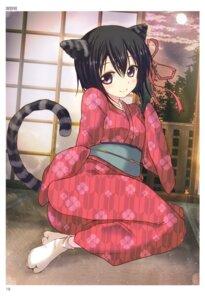Rating: Questionable Score: 35 Tags: animal_ears kimono nekomimi sawano_akira tail toranoana User: abcdefh