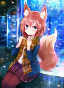 Rating: Safe Score: 64 Tags: animal_ears kitsune pantyhose seifuku sukemyon tail User: nphuongsun93