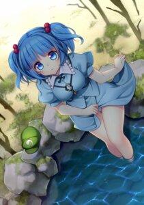 Rating: Questionable Score: 35 Tags: asuka_chiyo kawashiro_nitori pantsu skirt_lift touhou User: oppai