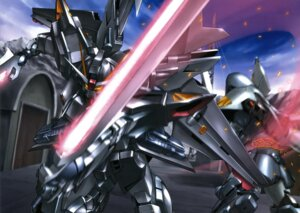 Rating: Safe Score: 10 Tags: gundam gundam_seed_c.e._73:_stargazer mecha sword User: Radioactive