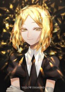 Rating: Safe Score: 12 Tags: business_suit houseki_no_kuni u_suke yellow_diamond User: charunetra