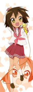 Rating: Safe Score: 11 Tags: kusakabe_misao lucky_star seifuku stick_poster User: Share