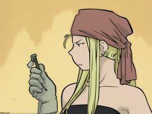 Rating: Safe Score: 13 Tags: fullmetal_alchemist signed vector_trace wallpaper winry_rockbell User: charunetra