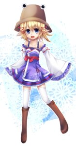 Rating: Safe Score: 9 Tags: moriya_suwako siyusiyu13 thighhighs touhou User: itsu-chan