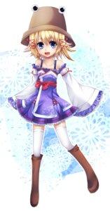 Rating: Safe Score: 11 Tags: moriya_suwako siyusiyu13 thighhighs touhou User: itsu-chan