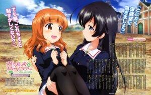 Rating: Safe Score: 26 Tags: girls_und_panzer isuzu_hana seifuku takebe_saori thighhighs yamaguchi_asuka User: drop