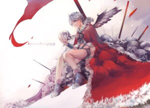 Rating: Questionable Score: 5 Tags: blood cp_.ieng hunter_x_hunter killua_zaoldyeck wings User: mash