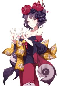 Rating: Safe Score: 42 Tags: cleavage fate/grand_order illusionk katsushika_hokusai_(fate/grand_order) kimono open_shirt User: Mr_GT