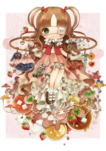 Rating: Safe Score: 7 Tags: blood dress eyepatch lolita_fashion rondon User: hobbito