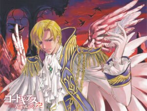 Rating: Safe Score: 9 Tags: clamp code_geass male schneizel_el_britannia screening User: hirotn