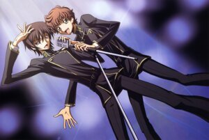 Rating: Safe Score: 7 Tags: as'_maria code_geass kururugi_suzaku lelouch_lamperouge male User: Radioactive