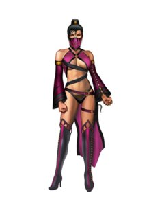 Rating: Questionable Score: 8 Tags: bikini_armor cleavage garter heels mileena mortal_kombat mortal_kombat_(2011) tagme thighhighs underboob weapon User: Yokaiou