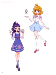 Rating: Questionable Score: 4 Tags: dress mahou_girls_precure! miyamoto_emiko pretty_cure User: drop