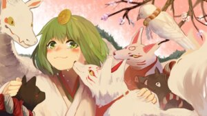 Rating: Safe Score: 16 Tags: gumi japanese_clothes milimilihosi neko vocaloid User: Mr_GT