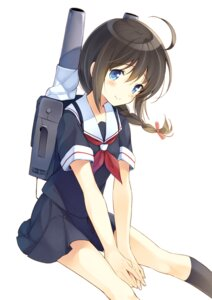 Rating: Safe Score: 43 Tags: kantai_collection komi_zumiko seifuku shigure_(kancolle) User: 椎名深夏