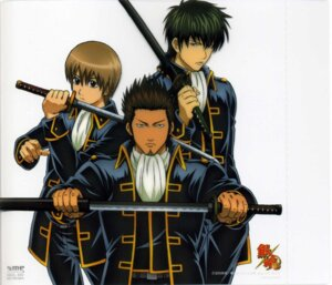 Rating: Safe Score: 7 Tags: gintama hijikata_toushirou kondou_isao male okita_sougo shinsengumi User: Davison