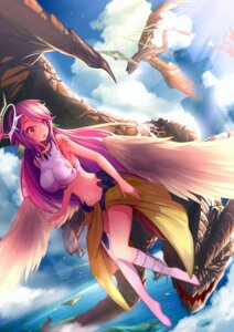 Rating: Safe Score: 61 Tags: jibril_(no_game_no_life) kira_(lucky_k) no_game_no_life tattoo wings User: charunetra