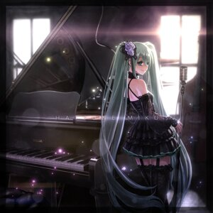Rating: Safe Score: 30 Tags: dress hatsune_miku ikeda_(hayato) stockings thighhighs vocaloid User: Mr_GT