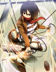 Rating: Safe Score: 40 Tags: mikasa_ackerman shingeki_no_kyojin umakatsuhai uniform User: 23yAyuMe