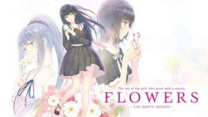 Rating: Safe Score: 17 Tags: flowers innocent_grey seifuku tagme wallpaper User: moonian