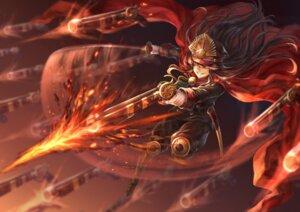 Rating: Safe Score: 32 Tags: armor demon_archer fate/grand_order gun mashu_(003) sword uniform User: Mr_GT