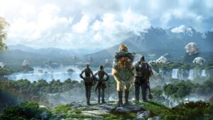 Rating: Safe Score: 23 Tags: cg final_fantasy final_fantasy_xiv landscape watermark User: Radioactive