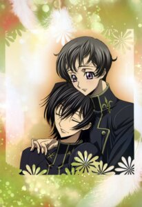 Rating: Safe Score: 2 Tags: code_geass lelouch_lamperouge male rollo_lamperouge r_shoutai sakou_yukie User: Aurelia