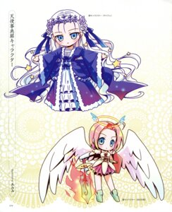 Rating: Safe Score: 21 Tags: amimi chibi dress lolita_fashion wings User: petopeto