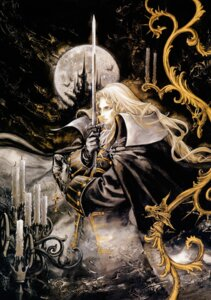 Rating: Safe Score: 11 Tags: alucard_(castlevania) castlevania castlevania:_symphony_of_the_night kojima_ayami konami male scanning_resolution sword User: dinmamma32