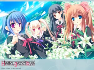 Rating: Safe Score: 32 Tags: hello_good-bye hiiragi_koharu lump_of_sugar moekibara_fumitake rindou_natsume saotome_suguri seifuku wallpaper yukishiro_may User: aiur