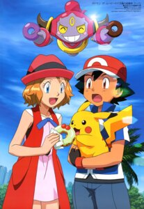 Rating: Safe Score: 18 Tags: hoopa pikachu pokemon pokemon_xy satoshi_(pokemon) serena_(pokemon) User: drop