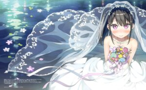 Rating: Safe Score: 88 Tags: dress kantoku shizuku_(kantoku) wallpaper wedding_dress wet_clothes User: Twinsenzw