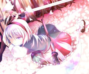 Rating: Safe Score: 8 Tags: ahms konpaku_youmu sword touhou User: yumichi-sama