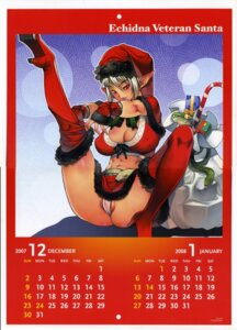 Rating: Questionable Score: 12 Tags: calendar christmas cleavage echidna elf erect_nipples f.s heels keltan pantsu pointy_ears queen's_blade thighhighs thong undressing User: Radioactive