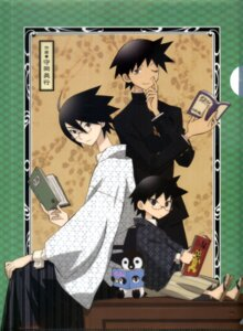 Rating: Safe Score: 8 Tags: itoshiki_nozomu kudou_jun male sayonara_zetsubou_sensei scanning_artifacts User: Radioactive