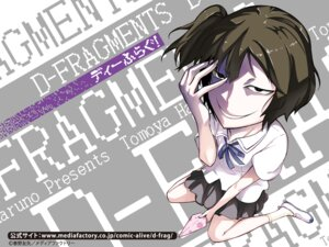 Rating: Safe Score: 10 Tags: d-fragments seifuku wallpaper User: akusiapa