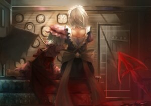 Rating: Safe Score: 26 Tags: izayoi_sakuya maid remilia_scarlet ririri touhou wings User: Spidey