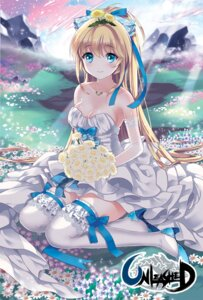 Rating: Safe Score: 109 Tags: cleavage dress garter heels ice_(ice_aptx) thighhighs wedding_dress User: tbchyu001