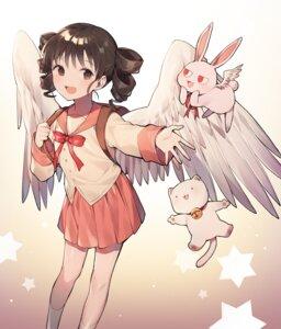 Rating: Safe Score: 13 Tags: azit_(down) full_moon_wo_sagashite neko seifuku tagme wings User: Munchau