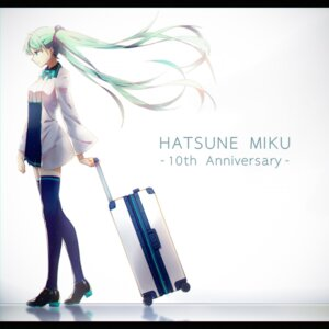 Rating: Safe Score: 36 Tags: hatsune_miku heels thighhighs vocaloid xy_(pixiv8783776) User: saemonnokami