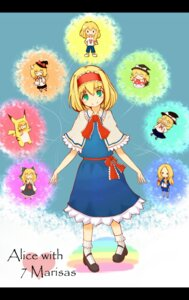 Rating: Safe Score: 8 Tags: alice_margatroid arakawa_under_the_bridge chibi cosplay kirisame_marisa pikachu shiro_tsugumi touhou User: Radioactive
