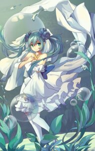 Rating: Safe Score: 20 Tags: dress hatsune_miku heels tagme thighhighs vocaloid User: charunetra